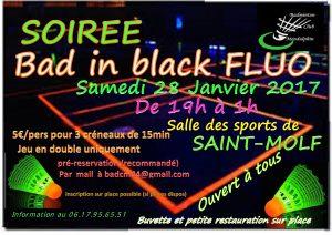 Soirée BAD in BLACK - BCM @ Salle des sports